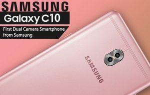 Samsung Galaxy C10 Specification camera