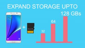 Samsung Galaxy C10 Specification storage