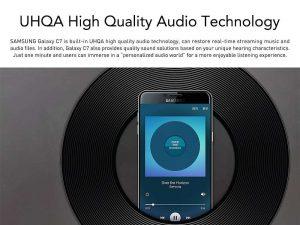 Samsung Galaxy C7 music