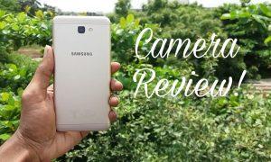 Samsung Galaxy J7 Prime back camera