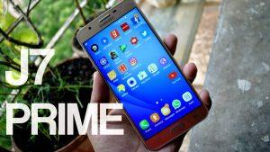 Samsung Galaxy J7 Prime display