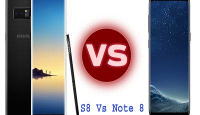s8 vs note 8 camera