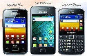 Samsung Galaxy Y Series