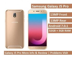 Samsung Galaxy J5 Pro specification whatsnew