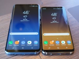 Samsung S8 Plus Specification price display
