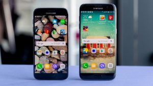 Samsung Galaxy S7 vs s7 edge screen Samsungmobilespecs