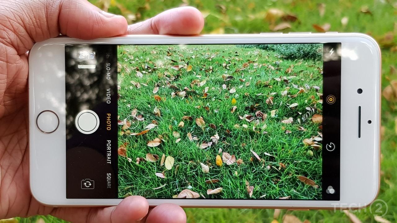 Samsung Galaxy S8 vs iPhone 8- iphone 8 camea