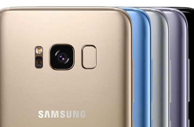 Samsung Galaxy S8 vs iPhone 8- s8 colors variant