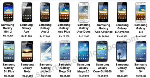 Samsung Galaxy Phones List With Price