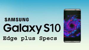 Samsung Galaxy S10 Edge Plus copy