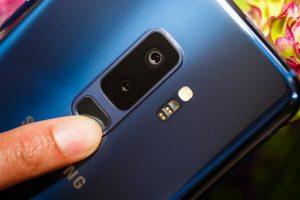 Samsung Galaxy S9 Edge PLUS camera