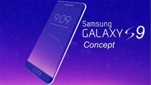 Samsung Galaxy S9 Edge concept